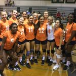 Valhalla High School Girls Freshman Volleyball falls to Helix High School 2-1