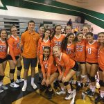 Valhalla High School Girls Junior Varsity Volleyball beat Helix High School 2-0