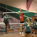 Valhalla High School Girls Varsity Volleyball falls to Helix High School 3-0