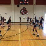 Valhalla High School Girls Freshman Volleyball falls to Steele Canyon High School 2-0