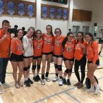 Valhalla High School Girls Junior Varsity Volleyball beat West Hills High School 2-0