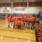 Valhalla High School Girls Freshman Volleyball beat Granite Hills 2-1