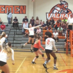 Valhalla High School Girls Varsity Volleyball beat Granite Hills 3-0