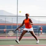 Valhalla High School Girls Varsity Tennis beat Granite Hills High School 12-6