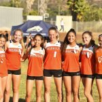 Valhalla High School Girls Varsity Cross Country falls to Steele Canyon High School 23-41