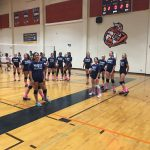 Valhalla High School Girls Freshman Volleyball beat Helix High School 2-0