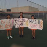 Valhalla High School Girls Varsity Tennis beat Grossmont High School 11-7