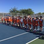 Valhalla High School Girls Junior Varsity Tennis falls to Grossmont High School 13-5