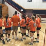 Valhalla High School Girls Junior Varsity Volleyball falls to Steele Canyon High School 2-1