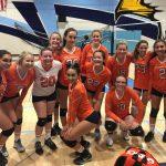 Valhalla High School Girls Junior Varsity Volleyball beat Granite Hills 2-0