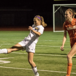 Girls Varsity Soccer beats Santana 3 – 0