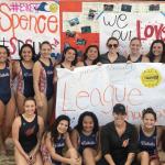 Girls Junior Varsity Water Polo beats Helix 6 – 4