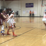 Girls Varsity Basketball falls to Steele Canyon 38 – 31