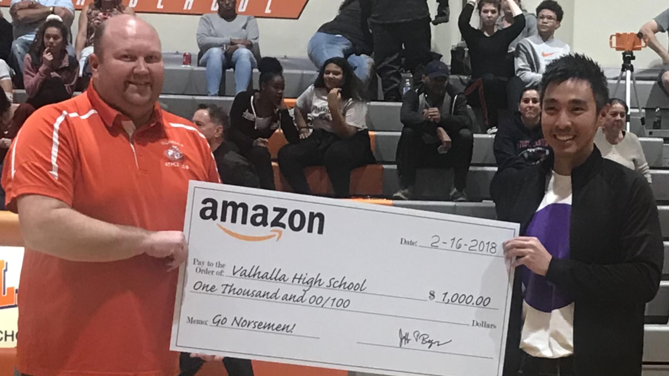 Valhalla Athletics Says Thanks to Amazon