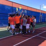 Boys Junior Varsity Tennis falls to Grossmont 10 – 8