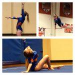 Girls Varsity Gymnastics finishes 1st place at Monte Vista/Spring Valley