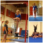 Girls Junior Varsity Gymnastics finishes 1st place at Monte Vista/Spring Valley