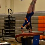 Girls Junior Varsity Gymnastics finishes 2nd place at Grossmont
