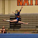 Girls Varsity Gymnastics finishes 1st place at Grossmont