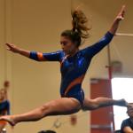 Girls Varsity Gymnastics finishes 1st place vs Granite Hills