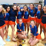 Girls Varsity Gymnastics finishes 2nd place at Steele Canyon