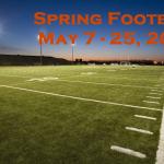 Spring Football Begins