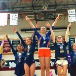 Girls Junior Varsity Gymnastics finishes 3rd place at JV Invitational