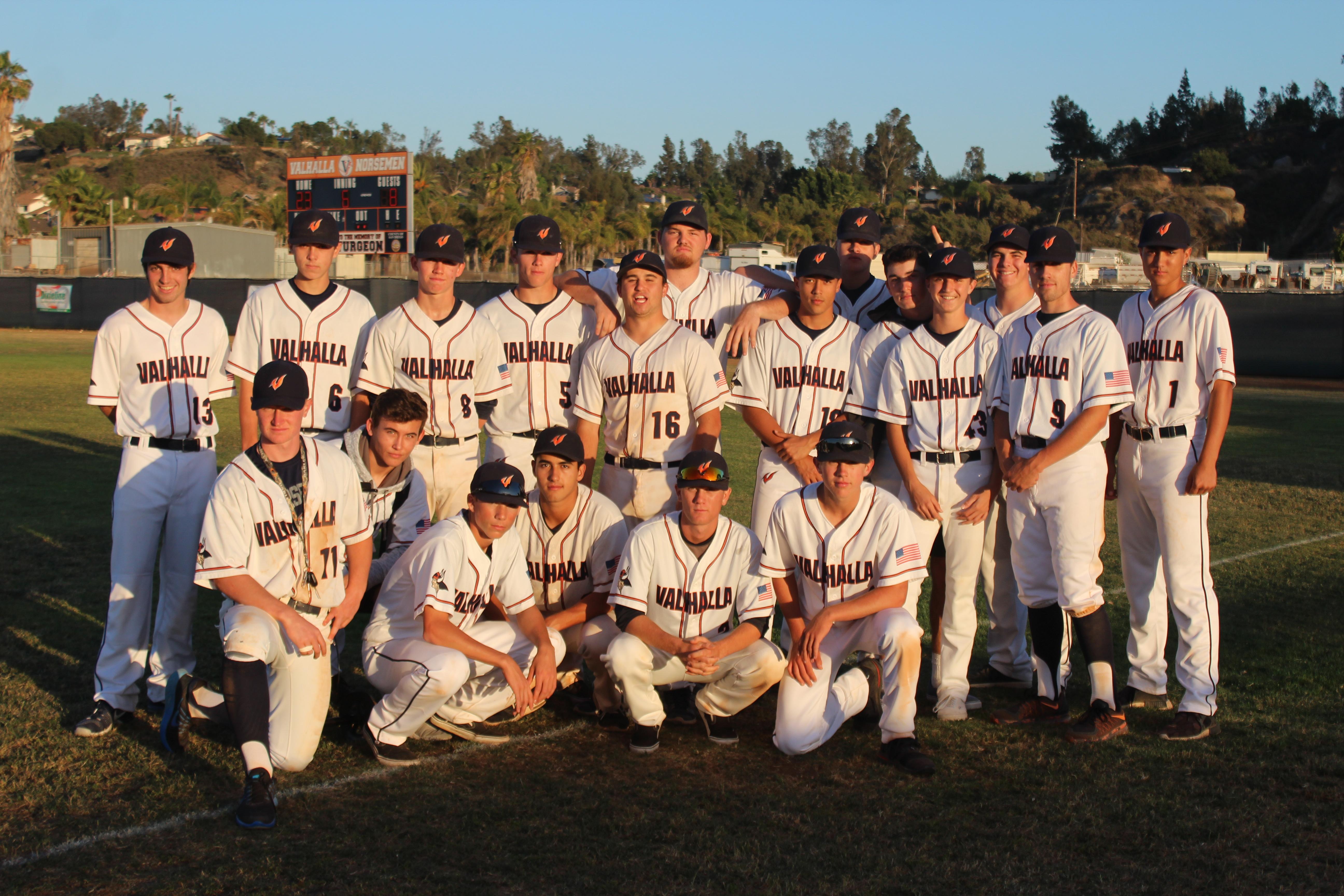 Varsity Baseball Wins League Championship