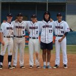Varsity Baseball beats Monte Vista on Senior Night