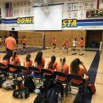 Girls Freshman Volleyball falls to Bonita Vista 2 – 1