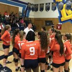 Girls Junior Varsity Volleyball beats Bonita Vista 2 – 0 to open the season