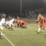 Varsity Football Played Tough vs. West Hills