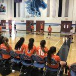 Girls Freshman Volleyball lost Otay Ranch 0-2