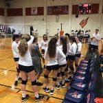 Girls Junior Varsity Volleyball beat Maranatha Christian School 2 – 0