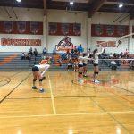 Girls Varsity Volleyball falls to Maranatha 3 – 2