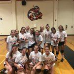 Girls Freshman Volleyball falls to Patrick Henry
