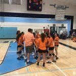 Girls Freshman Volleyball Wins first Match vs Granite Hills Freshman