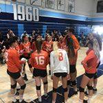 Girls Junior Varsity Volleyball wins over Granite Hills JV 2 – 0