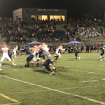 Varsity Football Loses to Otay Ranch Despite Strong Efforts by Defensive Line.