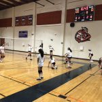 Girls Freshman Volleyball lost a tough one to Grossmont 2 – 2