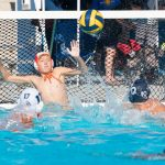 Boys JV Water Polo Builds on Lead to Overcome Santana