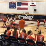Girls Junior Varsity Volleyball falls to Steele Canyon