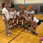 Girls Freshman Volleyball beats El Capitan