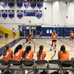 Girls Freshman Volleyball beats Grossmont