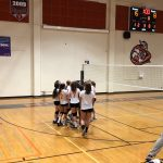 Girls Freshman Volleyball beats Helix