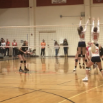 Girls Volleyball beats Mission Vista in First Round of CIF