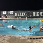 Girls Freshman Water Polo Novice beats Helix 6 – 2