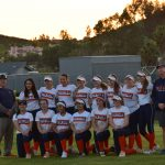 Girls Varsity Softball falls to Olympian