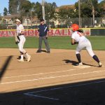 Girls Varsity Softball falls to Point Loma