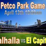 Baseball to Play at Petco Park